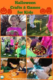 halloween crafts and games for kids events to celebrate