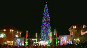 state u0027s tallest fresh cut christmas tree arrives at anthem outle