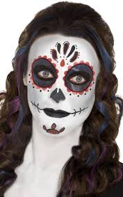 mexican halloween makeup mexican sugar skull make up women u0027s day of the dead face paint