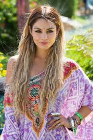 hippie hairstyles for long hair new hairstyle for men indian hippie hairstyle from vanessa hudgens