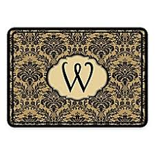 Damask Kitchen Rug Personalized Kitchen Rugs Personalized Kitchen Floor Mats Bed