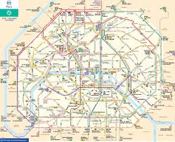 Bus Terminal Floor Plan Design Map Of Paris Bus U0026 Noctilien Stations U0026 Lines