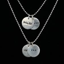 name tag necklace update contest win a tj co sterling silver name tag necklace