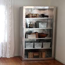 Bookcase Shop Aviator Shelving Bookcase Aluminum Ramonametal Handmade