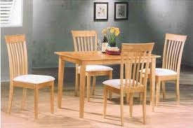 natural wood kitchen table and chairs roundhill furniture