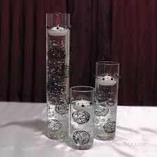 Glass Vase Cylinder Glass Cylinder Vase Set Of 3