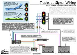 how to wire trackside signals using an atlas snap relay and led