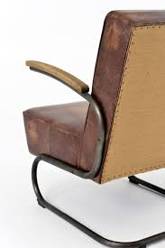 Vintage Leather Club Chair Miles Club Chair Vintage Leather And Burlap U2013 San Luis Obispo