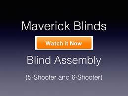 maverick 5 shooter deer stand in black with slide lock door seal