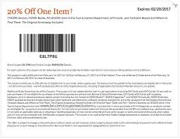 barnes and noble coupons printable and coupon codes december 2017