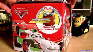 cars 2 silver lightning mcqueen racer surprise eggs disney pixar