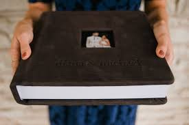 leather wedding photo albums wedding albums
