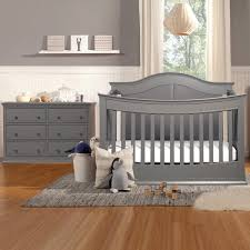 Baby Convertible Cribs Furniture Davinci Meadow 2 Nursery Set 4 In 1 Convertible Crib And