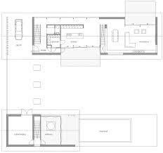 ground floor plan modern home in oosterhout the netherlands