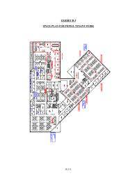 form 8 k j g wentworth co for may 19 exhibit b 3 space plan for initial tenant work b 3 1