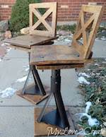 tri chair woodworking plans and information at woodworkersworkshop