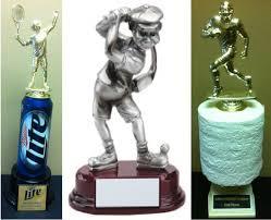 Armchair Quarterback Trophy Products
