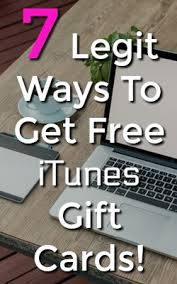 get an itunes gift card 7 ways to get free itunes gift card codes time from home