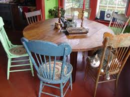 chairs to go with farmhouse table different chairs to go with rustic table tables farm tables