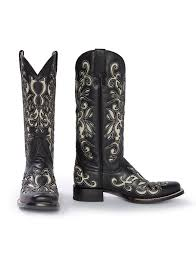 womens black cowboy boots size 9 stetson s boots