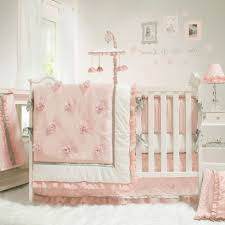 Crib Bedding Sets Walmart The Peanut Shell Baby Crib Bedding Set Pink And White
