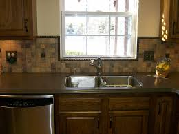 slate backsplash in kitchen slate mosaic kitchen tile backsplash with windows 2581