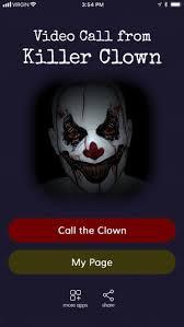 happy birthday creepy clown scary call from killer clown on the app store