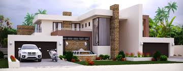 Simple 4 Bedroom House Plans African House Plans Simple Drawing With Modern Photos In South