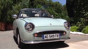 nissan figaro ep 2 what u0027s in my driveway nissan figaro youtube