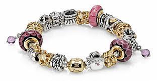 bracelet pandora gold images Pandora jewelry care instructions ben david jewelers png