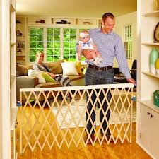 Pressure Fit Stair Gate 90cm by North States Supergate Expandable Swing Gate Amazon Co Uk Baby