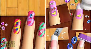 nail art beauty makeover salon for android free download at apk