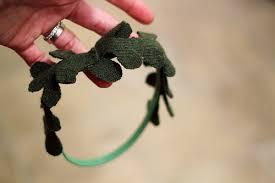 mistletoe headband mistletoe headbands the maker radmegan