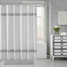 purple shower curtain luxury shower curtains black and white