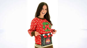 fireplace sweater jumper