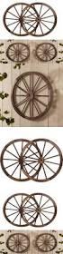 terrific wagon wheel wall decor vintage wood wagon heart trendy