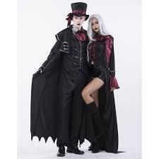 Halloween Vampire Costumes Gothic Halloween Vampire Dressed Kill Couple Costume N14770