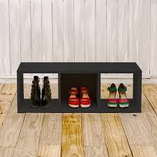 Aspen Bookcase Way Basics Aspen 37 5 In X 12 8 In 3 Cubby Zboard Storage