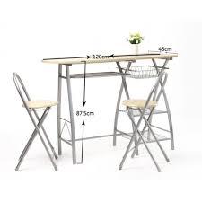 Pub Table Sets Cheap - amazon com dina 3pc fair kitchen bar table set home design ideas
