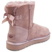 womens ugg boots bow womens ugg mini bailey bow ii boot 99 liked on polyvore