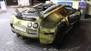 bugatti gold crazy gold chrome bugatti veyron walkaround and drive by u0027s in