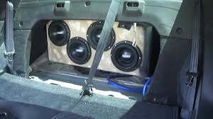 nissan altima coupe trunk 2010 altima coupe sound system extazy car club youtube
