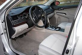 Toyota Camry 2013 Interior 2012 Toyota Camry Leading Like Always Boston Overdrive