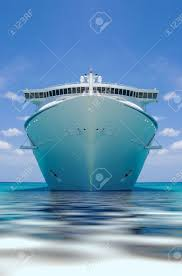 cruise ship in a caribbean ocean stock photo picture and royalty