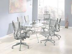 ofm tempered glass conference table stainless steel ofm glass steel conference table overstock com shopping the