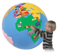 Interactive World Map For Kids by Children S Inflatable Interactive Giant World Globe With Free Pump