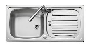 Leisure Euroline ELNC  X Mm Single Bowl Compact Kitchen - Compact kitchen sinks stainless steel