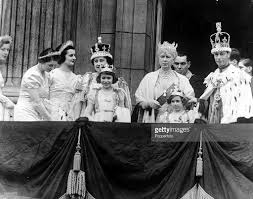 12th may 1937 london england members of the royal family on the