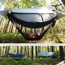 live in a hammock shelter this summer shadowfox