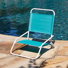 K Mart Patio Furniture Low Back Beach Chair Blue Outdoor Living Patio Furniture
